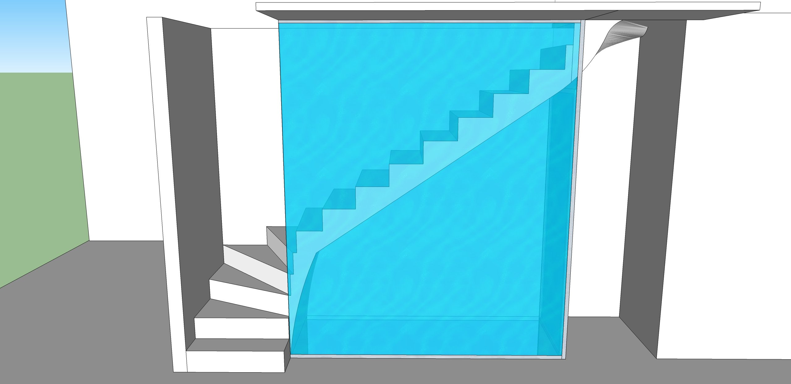 Joint Phonique Porte Coulissante protection escalier – garde corps isolation phonique
